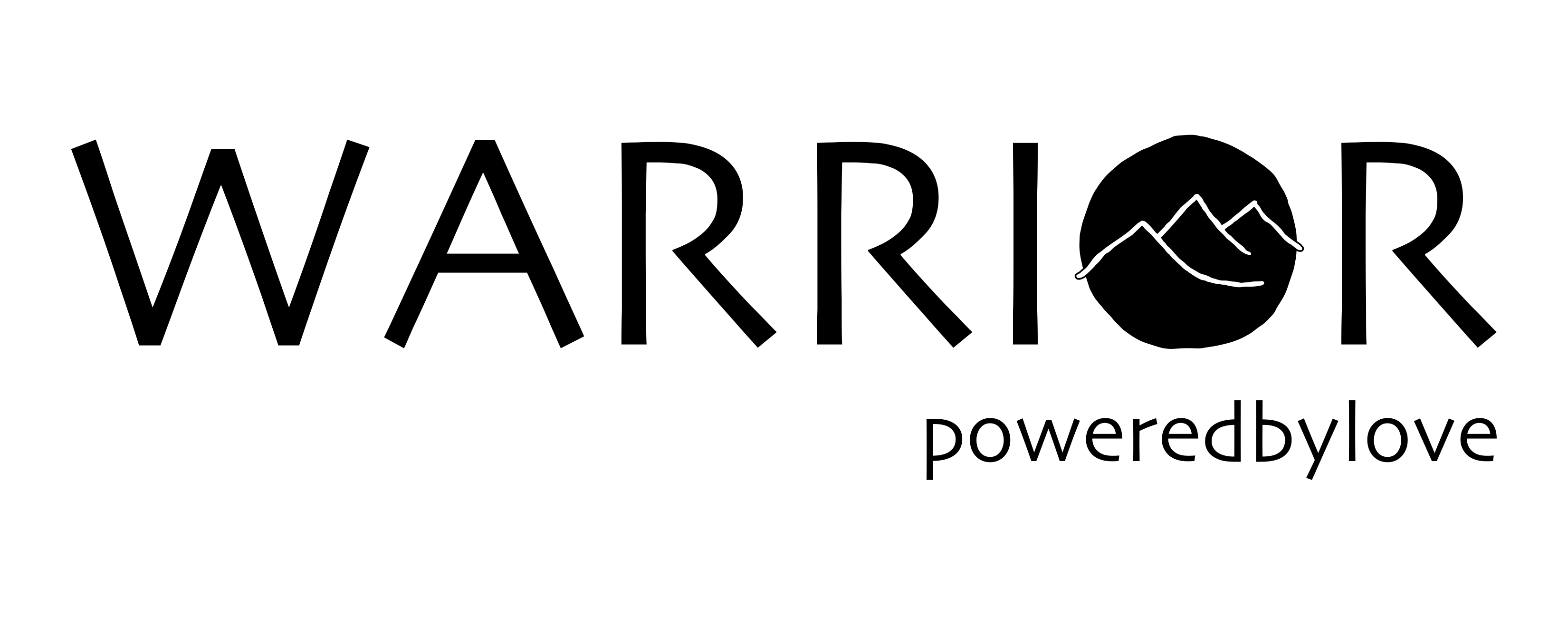 Logo for Warrior Powered By Love Program